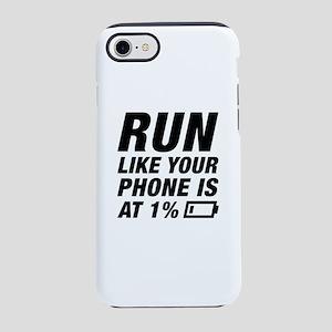 Run Like Your Phone iPhone 7 Tough Case