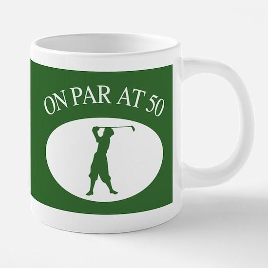 Golfer's 50th Birthday Mugs