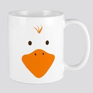 Cute Little Ducky's Face Mug
