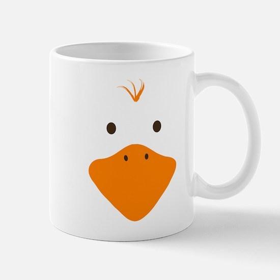 Cute Little Ducky's Face Mug
