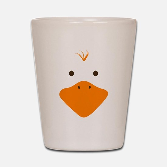 Cute Little Ducky's Face Shot Glass