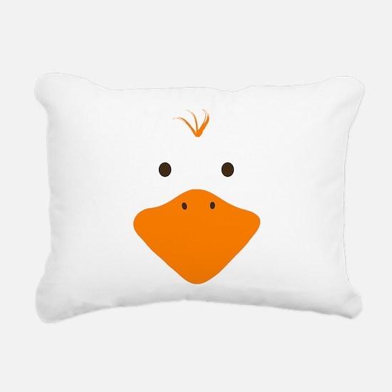 Cute Little Ducky Rectangular Canvas Pillow