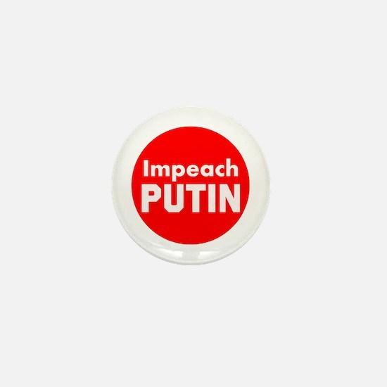 Impeach putin, trump, all republicans Mini Button
