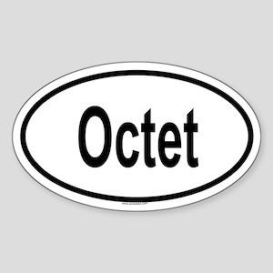 OCTET Oval Sticker