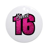 Sweet 16 Round Ornaments