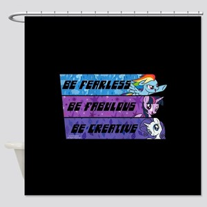 My Little Pony Be Fearless Fabulous Shower Curtain