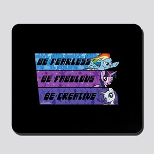 My Little Pony Be Fearless Fabulous Mousepad