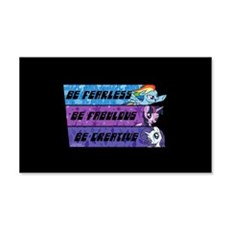 My Little Pony Be Fearless Fabulo Wall Decal