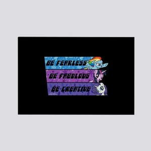 My Little Pony Be Fearless Fabulo Rectangle Magnet