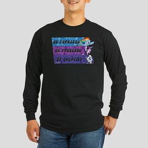 My Little Pony Be Fearles Long Sleeve Dark T-Shirt