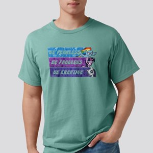 My Little Pony Be Fearle Mens Comfort Colors Shirt