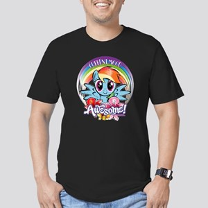 My Little Pony Current Men's Fitted T-Shirt (dark)