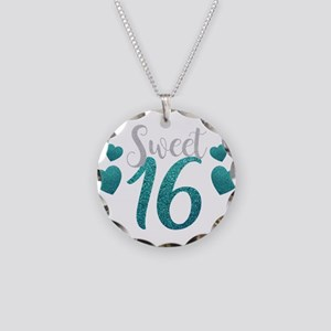 Birthday Necklace Circle Charm