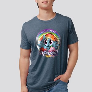My Little Pony Current Mood Mens Tri-blend T-Shirt