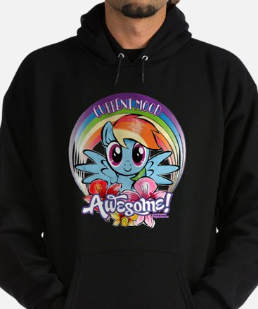 My Little Pony Current Mood Awesome Hoodie (dark)