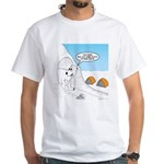 Winter Camping White T-Shirt