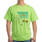 Winter Camping Green T-Shirt