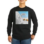 Winter Camping Long Sleeve Dark T-Shirt