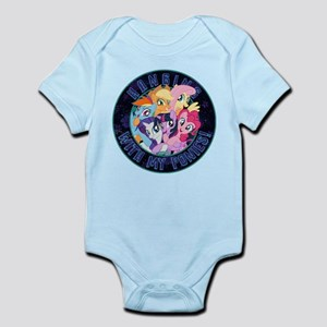 My Little Pony Hanging With My Baby Light Bodysuit