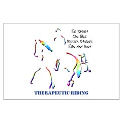 Therapeutic Riding Posters
