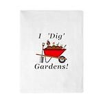 I Dig Gardens Twin Duvet