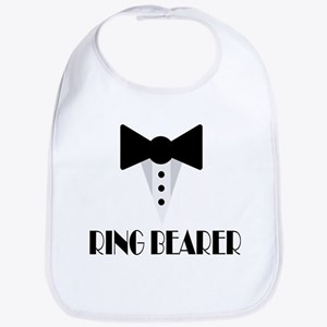 Ringbearer Wedding Party Baby Bib