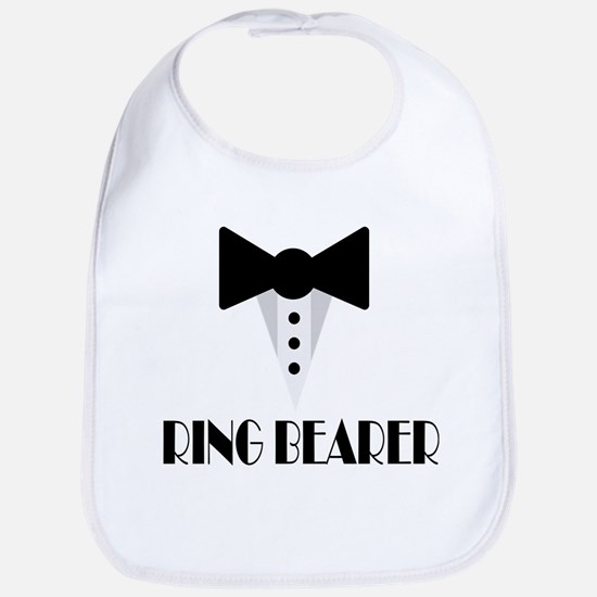 Ringbearer Wedding Party Baby Bib