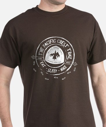 Pacific Crest Trail-Eat Sleep Hike T-Shirt