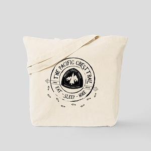 Pacific Crest Trail-Eat Sleep Hike Tote Bag