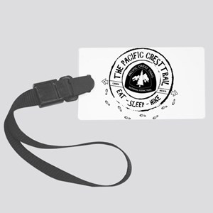 Pacific Crest Trail-Eat Sleep Hike Luggage Tag