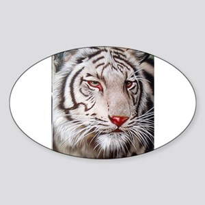 Tiger-white Sticker