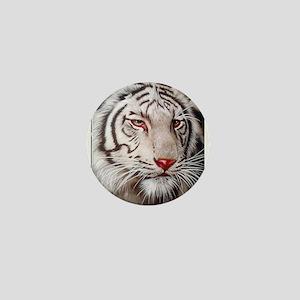 Tiger-white Mini Button