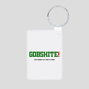 GOBSHITE - ENGlISH GRAMMAR AS SHE IS SPO Keychains