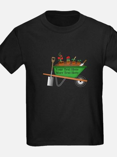 Personalized Green Wheelbarrow T