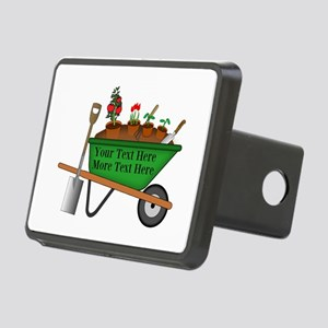 Personalized Green Wheelba Rectangular Hitch Cover