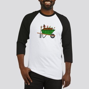 Personalized Green Wheelbarrow Baseball Jersey