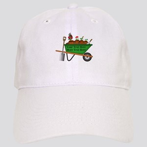 Personalized Green Wheelbarrow Cap