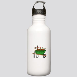 Personalized Green Whe Stainless Water Bottle 1.0L