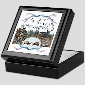 Wyoming wildlife Keepsake Box