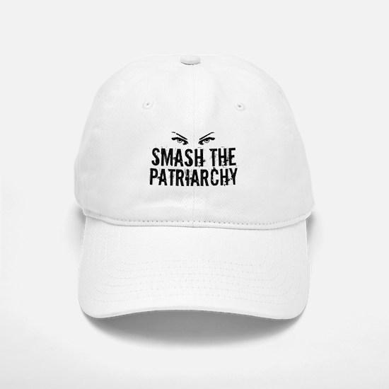 Smash Patriarchy Baseball Baseball Cap
