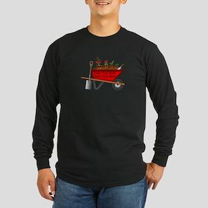 Personalized Red Wheelbar Long Sleeve Dark T-Shirt