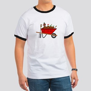 Personalized Red Wheelbarrow Ringer T