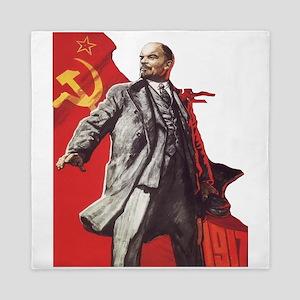 Lenin soviet union propaganda Queen Duvet