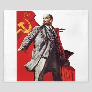 Lenin soviet union propaganda King Duvet