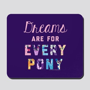 My Little Pony Dreams Every Pony Mousepad