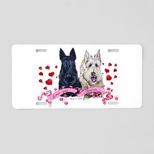 Scottie Valentine Aluminum License Plate