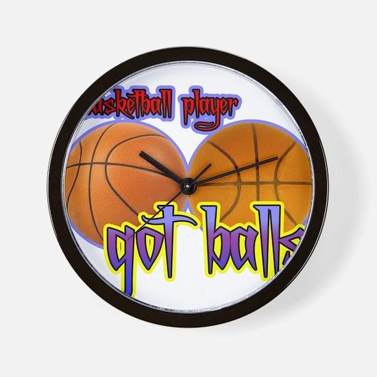 Funny Basketball unique Wall Clock
