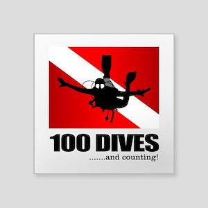 100 Dives Sticker