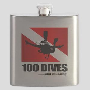 100 Dives Flask