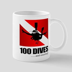 100 Dives Mugs